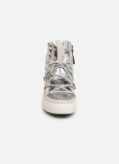 Chaussures de sport Moon Boot Moon Boot Pulse Z Cracked Argent vue portées chaussures
