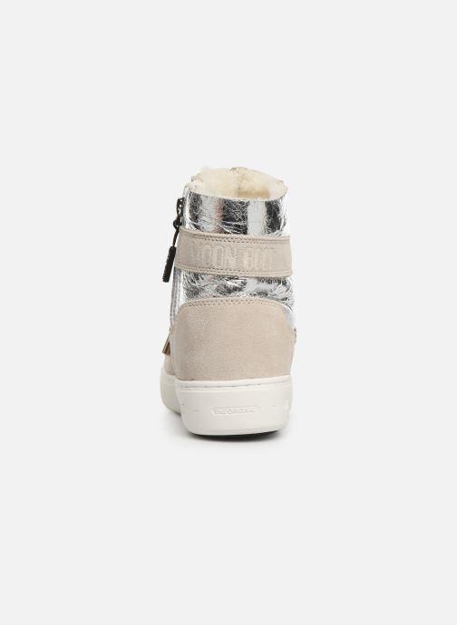Chaussures de sport Moon Boot Moon Boot Pulse Z Cracked Argent vue droite