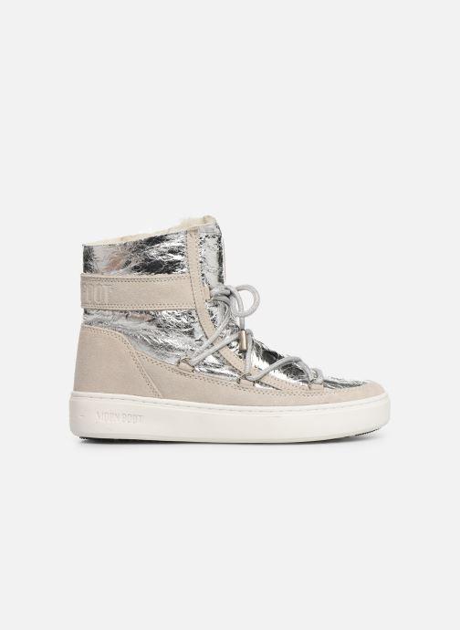 Chaussures de sport Moon Boot Moon Boot Pulse Z Cracked Argent vue derrière