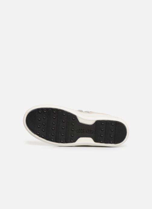 Chaussures de sport Moon Boot Moon Boot Pulse Z Cracked Argent vue haut