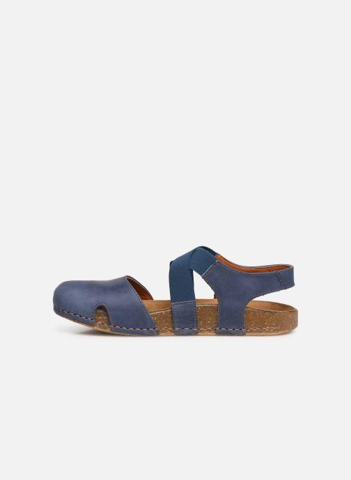 Sandales et nu-pieds Art We Walk 878 Bleu vue face