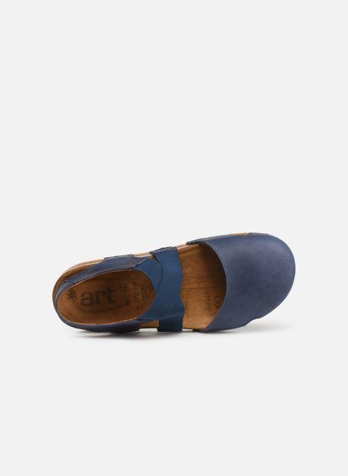 Sandales et nu-pieds Art We Walk 878 Bleu vue gauche