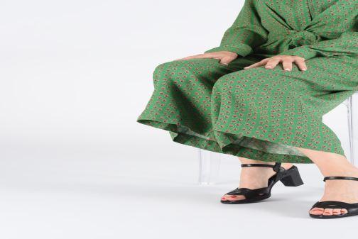Sandales et nu-pieds Art Rio 279 Noir vue bas / vue portée sac