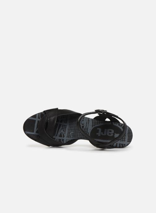 Sandales et nu-pieds Art Rio 279 Noir vue gauche