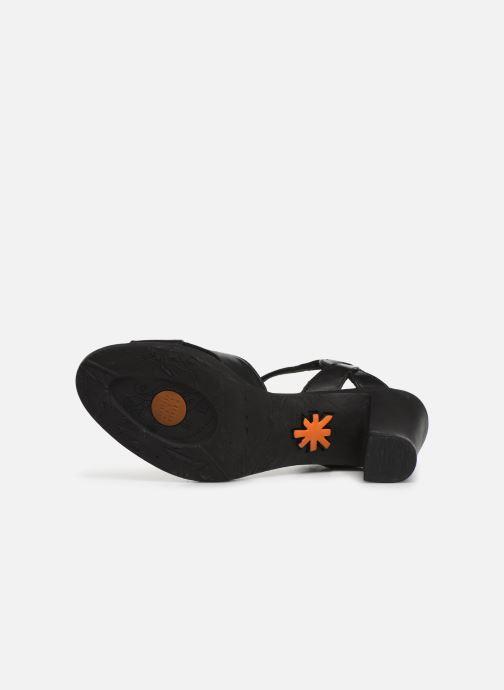 Sandales et nu-pieds Art Rio 279 Noir vue haut