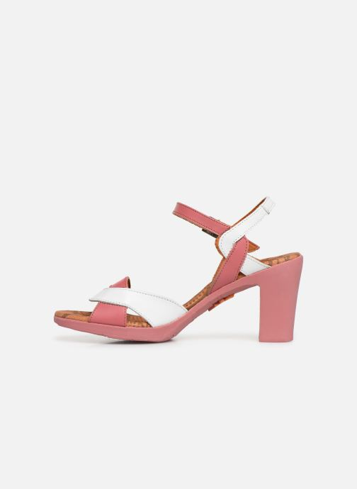 Sandales et nu-pieds Art Rio 279 Rose vue face