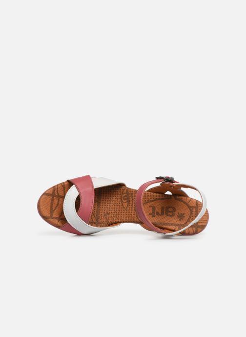 Sandales et nu-pieds Art Rio 279 Rose vue gauche
