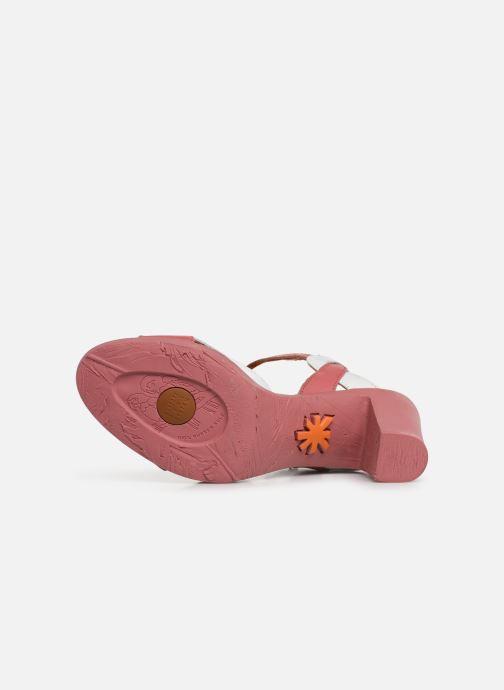 Sandales et nu-pieds Art Rio 279 Rose vue haut