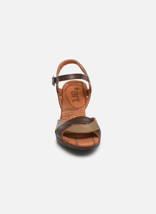 Sandales et nu-pieds Art Rio 279 Marron vue portées chaussures
