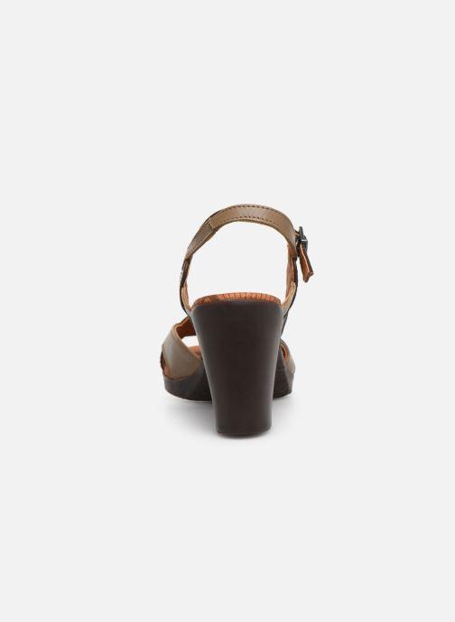 Sandales et nu-pieds Art Rio 279 Marron vue droite