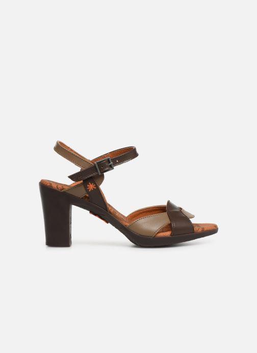 Sandales et nu-pieds Art Rio 279 Marron vue derrière