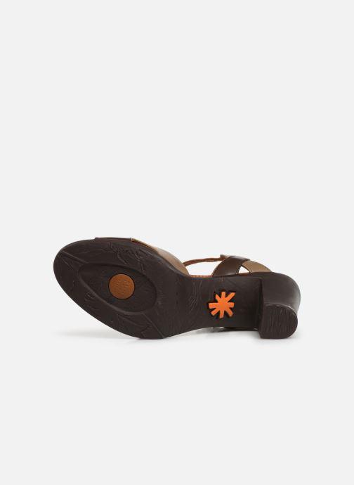 Sandales et nu-pieds Art Rio 279 Marron vue haut