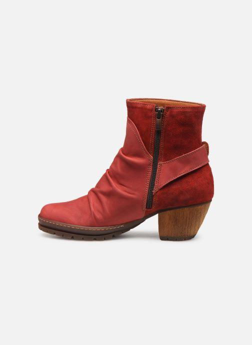 Bottines et boots Art Oslo 516 Rouge vue face