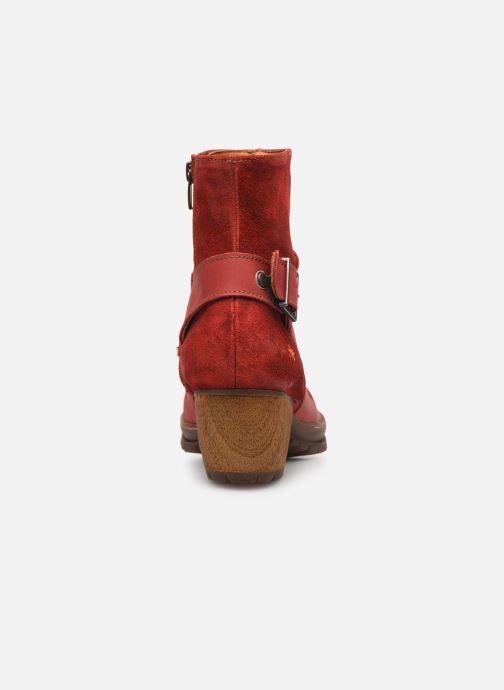 Bottines et boots Art Oslo 516 Rouge vue droite