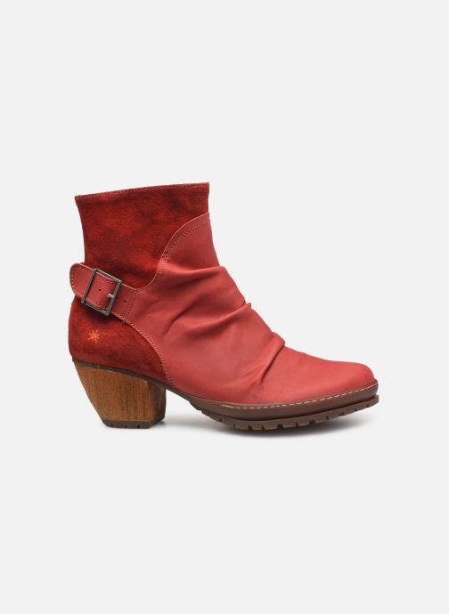 Bottines et boots Art Oslo 516 Rouge vue derrière