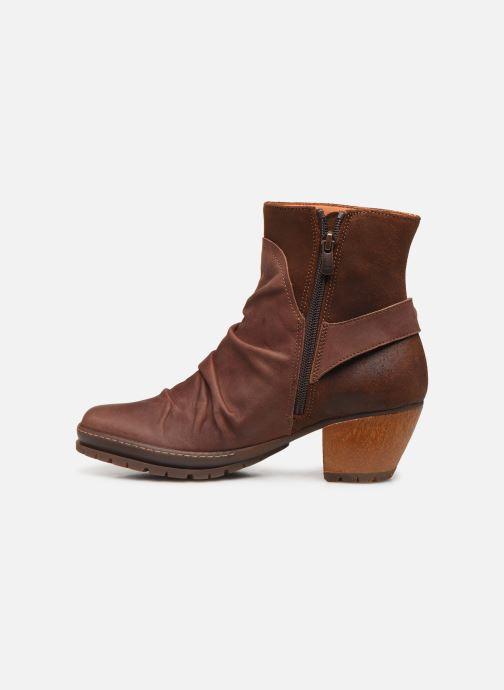 Bottines et boots Art Oslo 516 Marron vue face