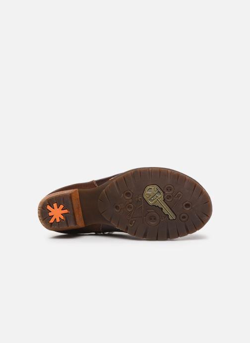 Bottines et boots Art Oslo 516 Marron vue haut