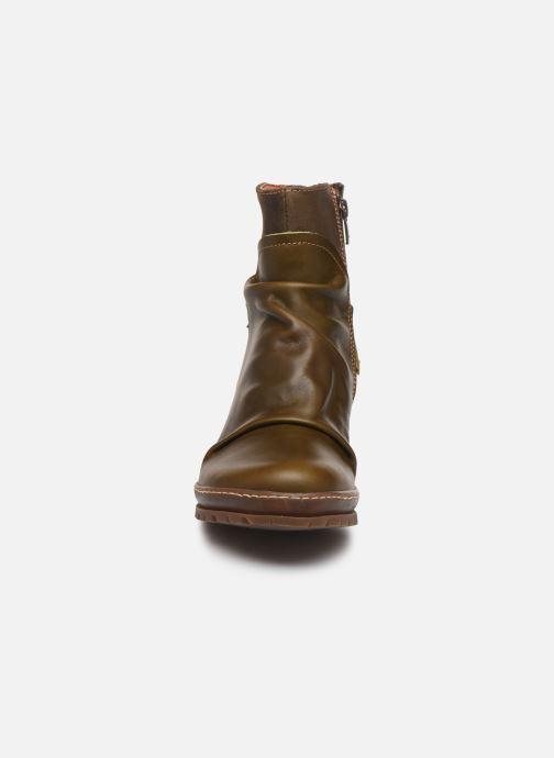 Bottines et boots Art Oslo 516 Vert vue portées chaussures