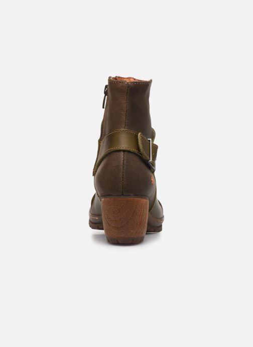 Bottines et boots Art Oslo 516 Vert vue droite