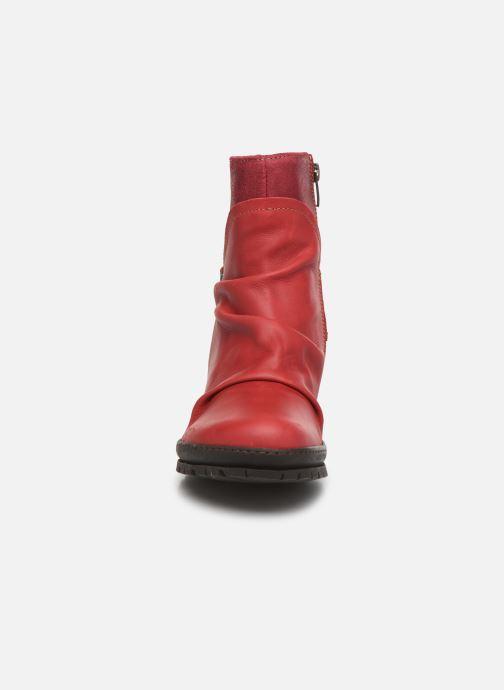 Bottines et boots Art Oslo 516 Rouge vue portées chaussures