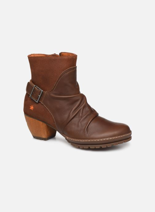 Boots en enkellaarsjes Art Oslo 516 Bruin detail