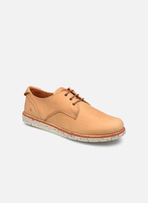 Lace-up shoes Art I Move 1087 Beige detailed view/ Pair view