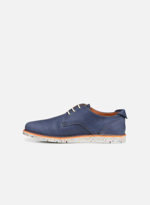 Chaussures à lacets Art I Move 1087 Bleu vue face