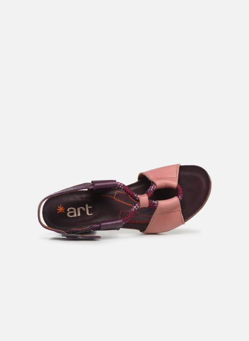 Sandales et nu-pieds Art I Feel 212 Rose vue gauche