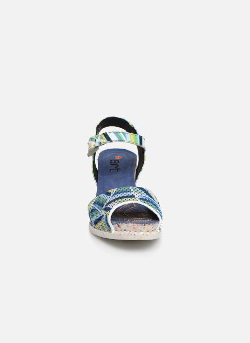 Sandali e scarpe aperte Art I Enjoy 1120 Azzurro modello indossato