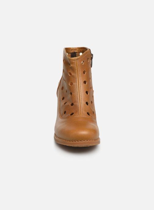 Boots en enkellaarsjes Art Genova 476 Bruin model
