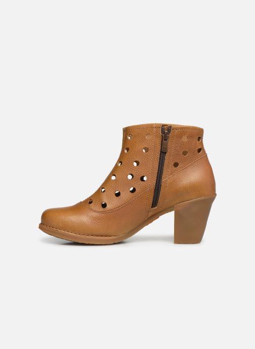 Boots en enkellaarsjes Art Genova 476 Bruin voorkant