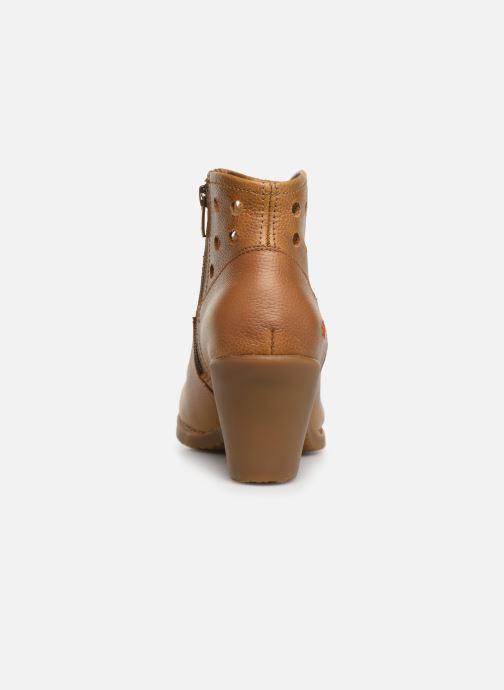 Boots en enkellaarsjes Art Genova 476 Bruin rechts