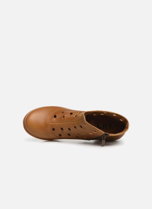 Boots en enkellaarsjes Art Genova 476 Bruin links