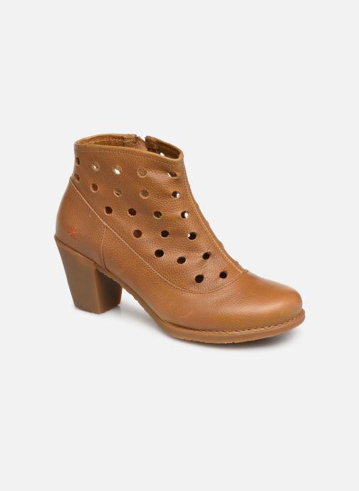 Boots en enkellaarsjes Art Genova 476 Bruin detail