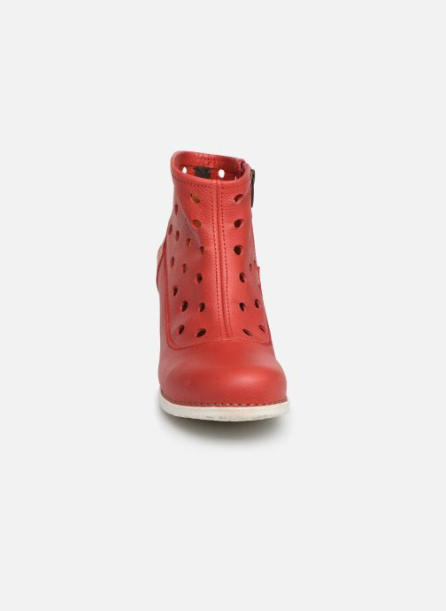 Boots en enkellaarsjes Art Genova 477 Rood model
