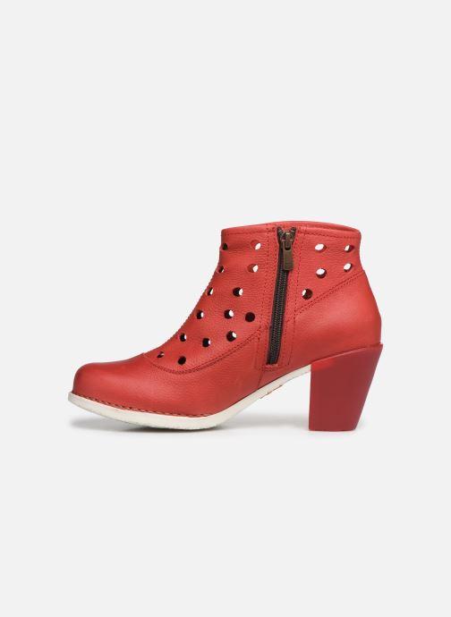 Boots en enkellaarsjes Art Genova 477 Rood voorkant
