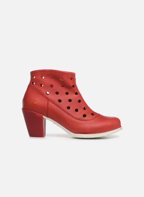 Boots en enkellaarsjes Art Genova 477 Rood achterkant