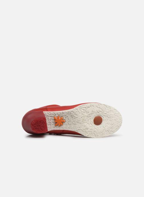 Boots en enkellaarsjes Art Genova 477 Rood boven