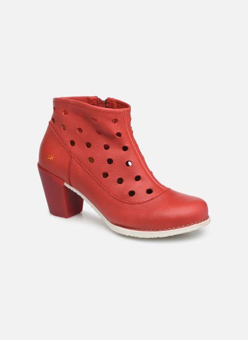Boots en enkellaarsjes Art Genova 477 Rood detail