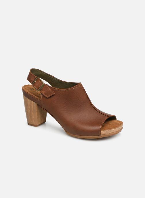 Sandales et nu-pieds El Naturalista Kuna N5022 Marron vue détail/paire