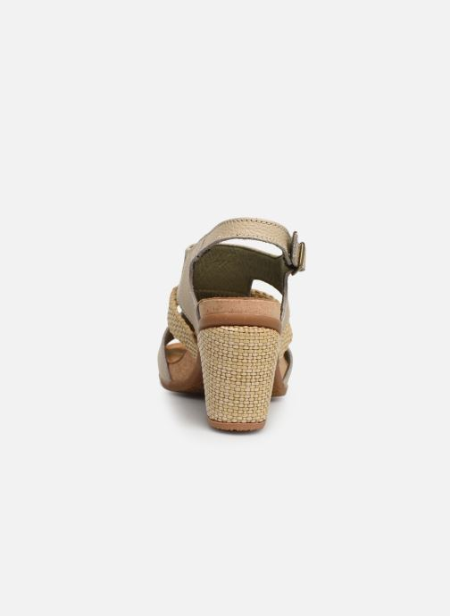 Sandals El Naturalista Mola N5031 Beige view from the right