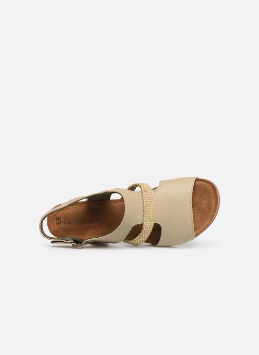 Sandales et nu-pieds El Naturalista Mola N5031 Beige vue gauche