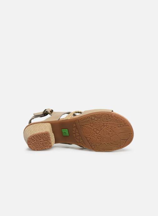 Sandales et nu-pieds El Naturalista Mola N5031 Beige vue haut