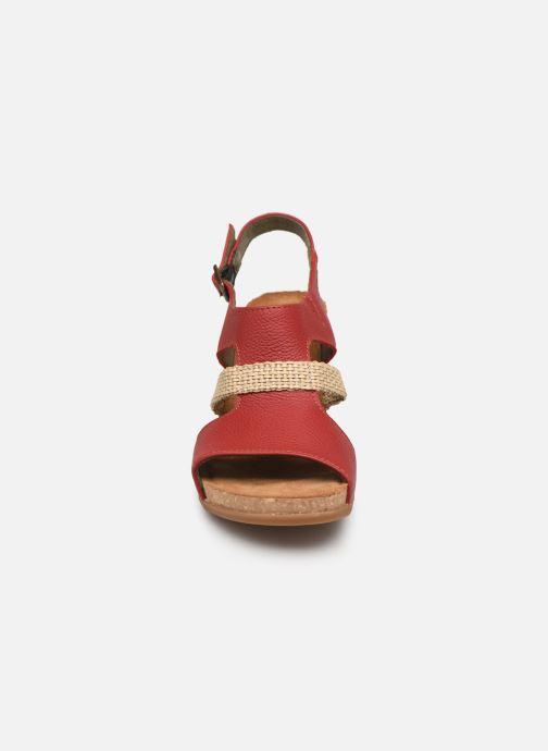 Sandales et nu-pieds El Naturalista Mola N5031 Rouge vue portées chaussures