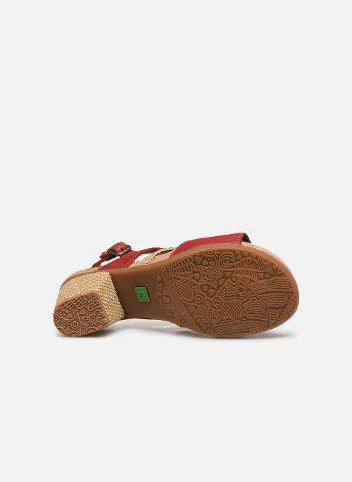 Sandales et nu-pieds El Naturalista Mola N5031 Rouge vue haut