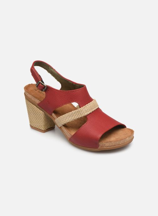 Sandales et nu-pieds El Naturalista Mola N5031 Rouge vue détail/paire