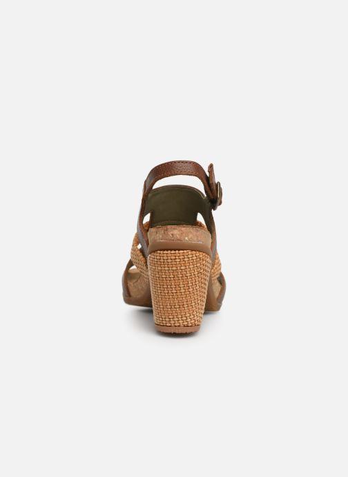 Sandales et nu-pieds El Naturalista Mola N5031 Marron vue droite