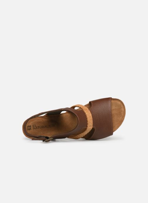 Sandales et nu-pieds El Naturalista Mola N5031 Marron vue gauche