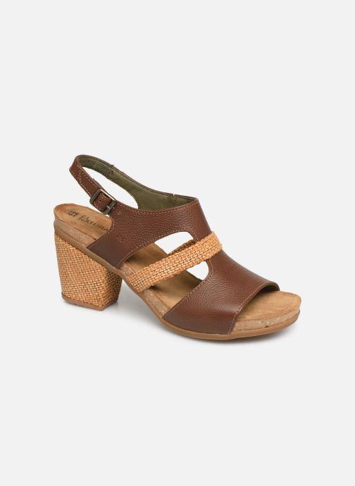 Sandales et nu-pieds El Naturalista Mola N5031 Marron vue détail/paire