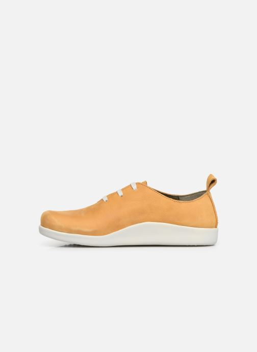 Trainers El Naturalista Koi N5110 Yellow front view